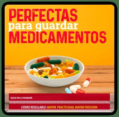 Guardar medicamentos
