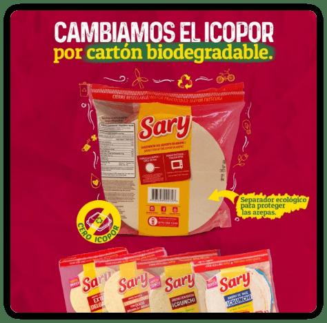 Sary - Cambiamos el icopor